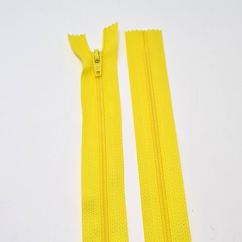 """16"""" Yellow Closed End Zip"""