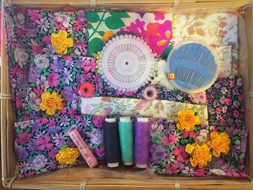 Fabric & Sewing Basket Hamper