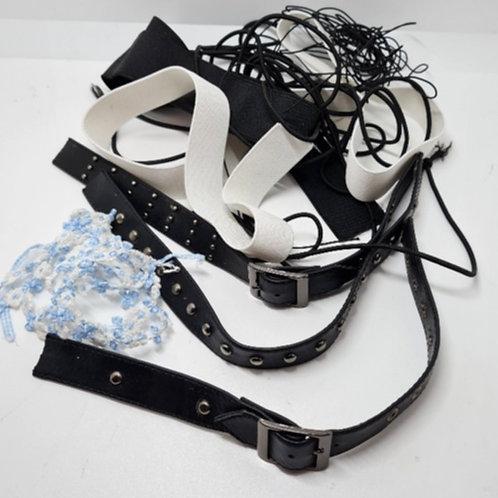 Mixed Bag of Elastic & Straps (MB006)