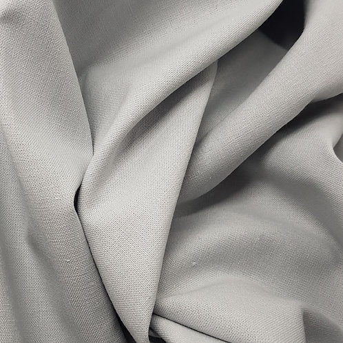 100% Grey Cotton Fabric