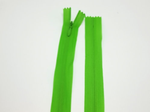 Green Invisible Zip