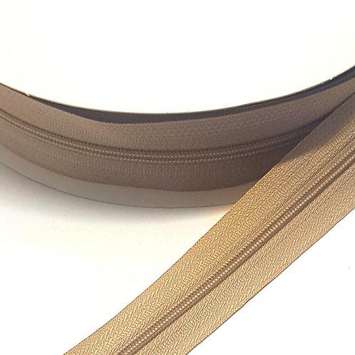 Light Brown Zip on Roll
