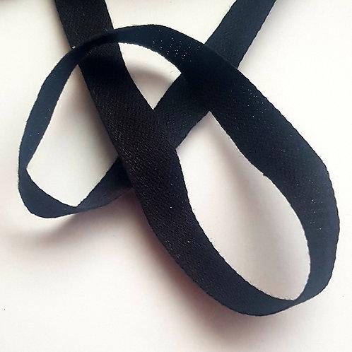 "1/2"" Cotton Tape Black"
