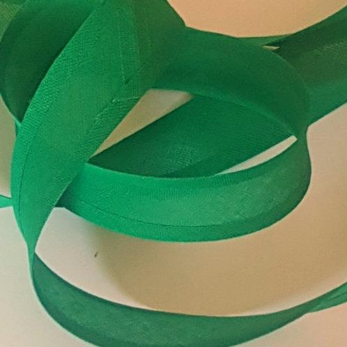 Green Cotton Bias Binding