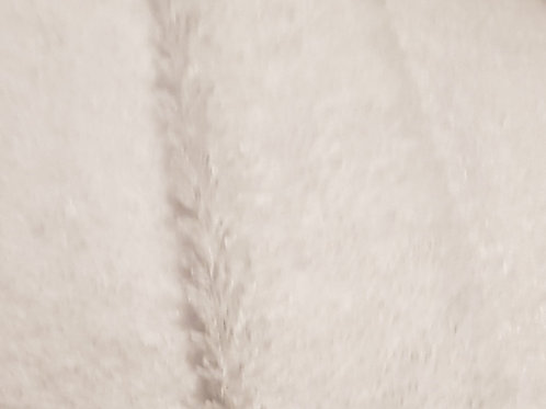 White Towelling (Terrycloth) Fabric