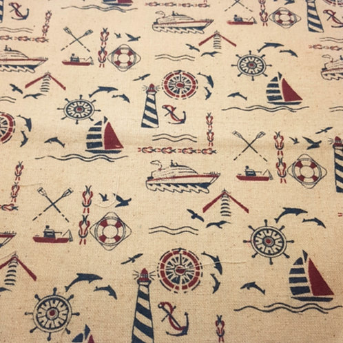 Marine Linen Print