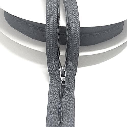 Grey Zip on Roll