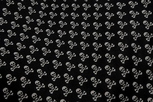 100% Cotton Skull & Cross Bones Print