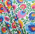 Vibrant Floral Cotton Print