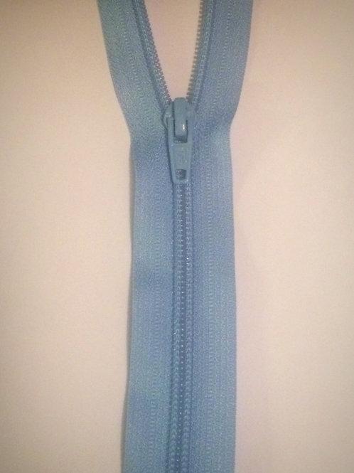 "24"" Blue Nylon Open End Zip"