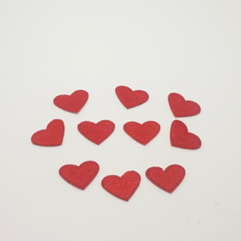 Love Heart Iron On Applieques