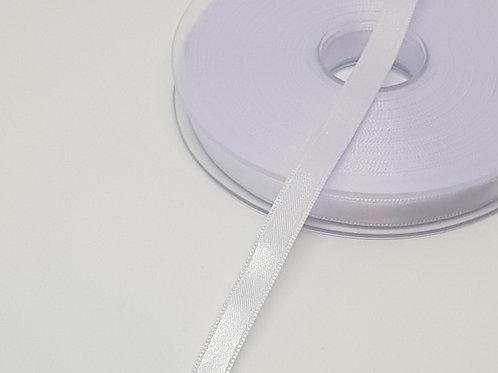 White 8mm Satin Ribbon