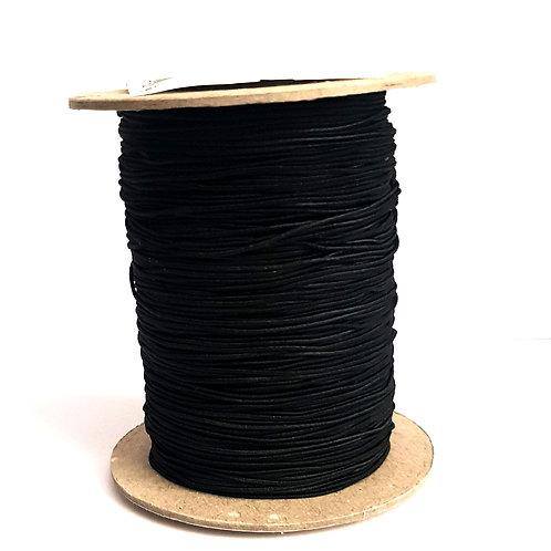 Black Elastic Cord (1mm)