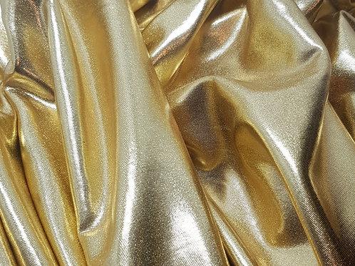 Gold 4 Way Stretch Lycra
