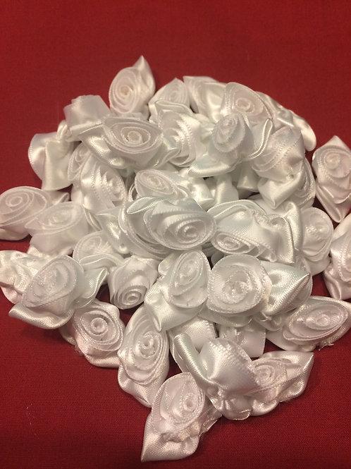 White Satin Roses