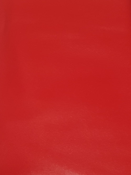 Red Imitation (faux) Leather