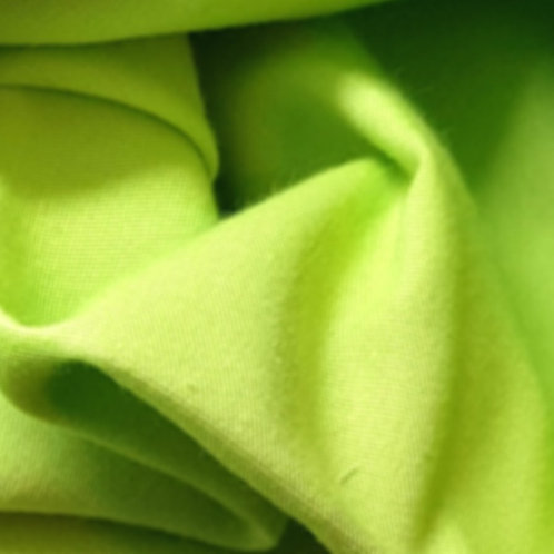 Lime Green 100% Cotton