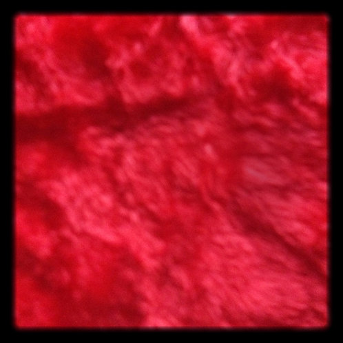 Red Faux Fur Fabric
