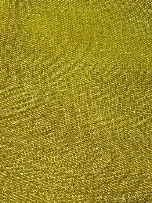 Yellow Net Fabric