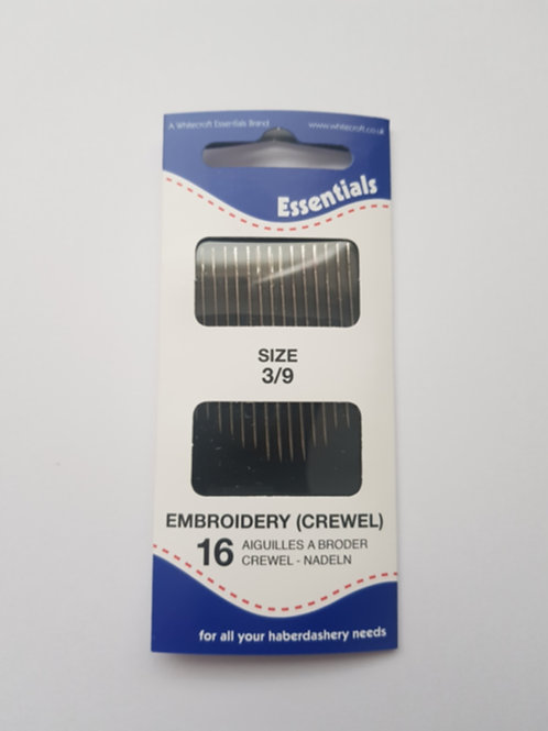 Embroidery (Crewel) Hand Sewing Needles