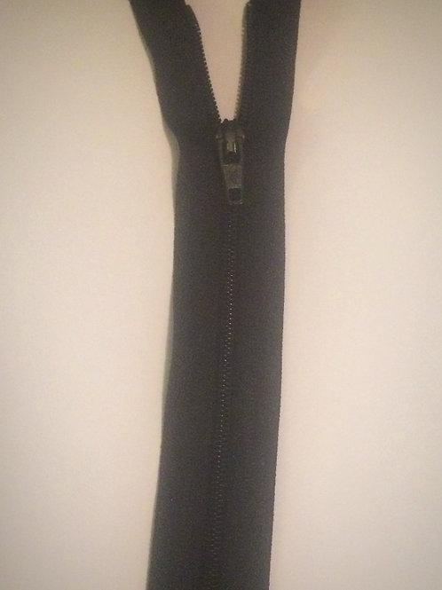 Nylon Black Zip  C/End