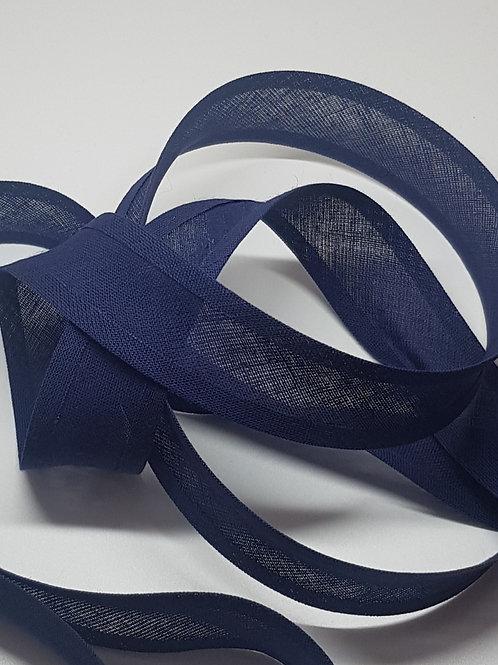 Navy Cotton Bias Binding