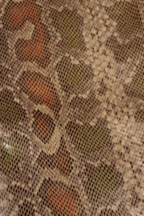 Faux Snake Print Fabric