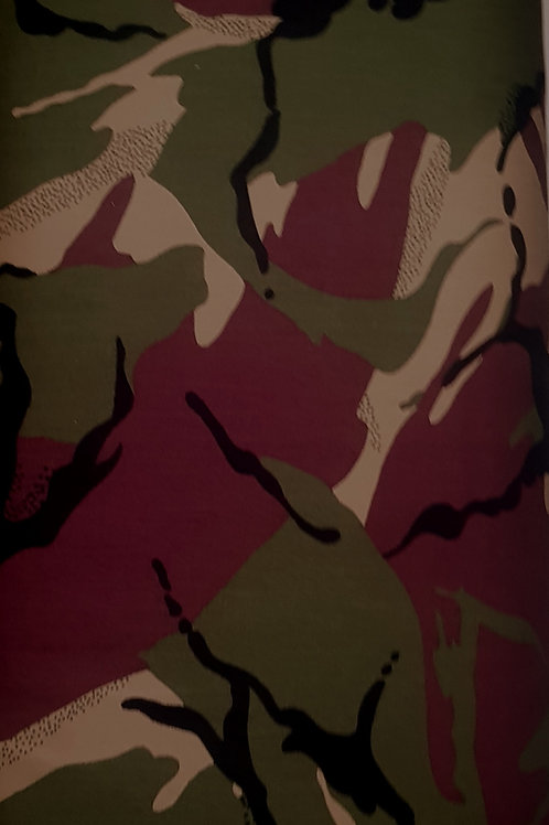 Camouflage 100% Cotton