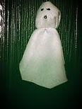How to make a ghost Halloween, craft ideas, halloween activities, fun for kids, spooky, halloween fabri, specialty fabrics