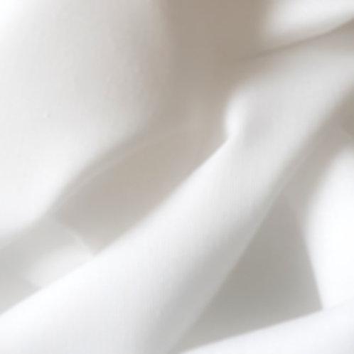 100% White Plain White Cotton