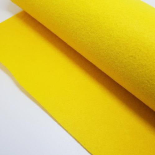 Yellow Felt Fabric
