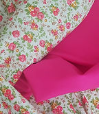 100% Cotton matches for pink floral