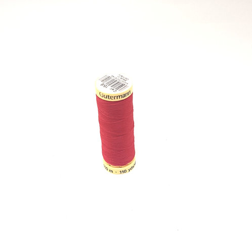 Gutermann Red Sew All Thread 100m (col 367)