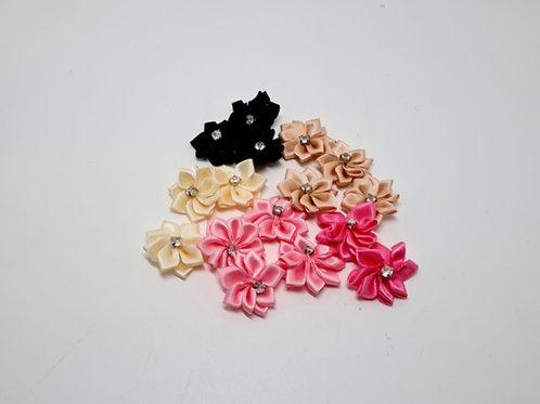 Multi Colour Flower Appliques