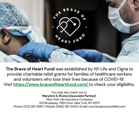 Grants for Families of Healthcare Workers Impacted by COVID-19