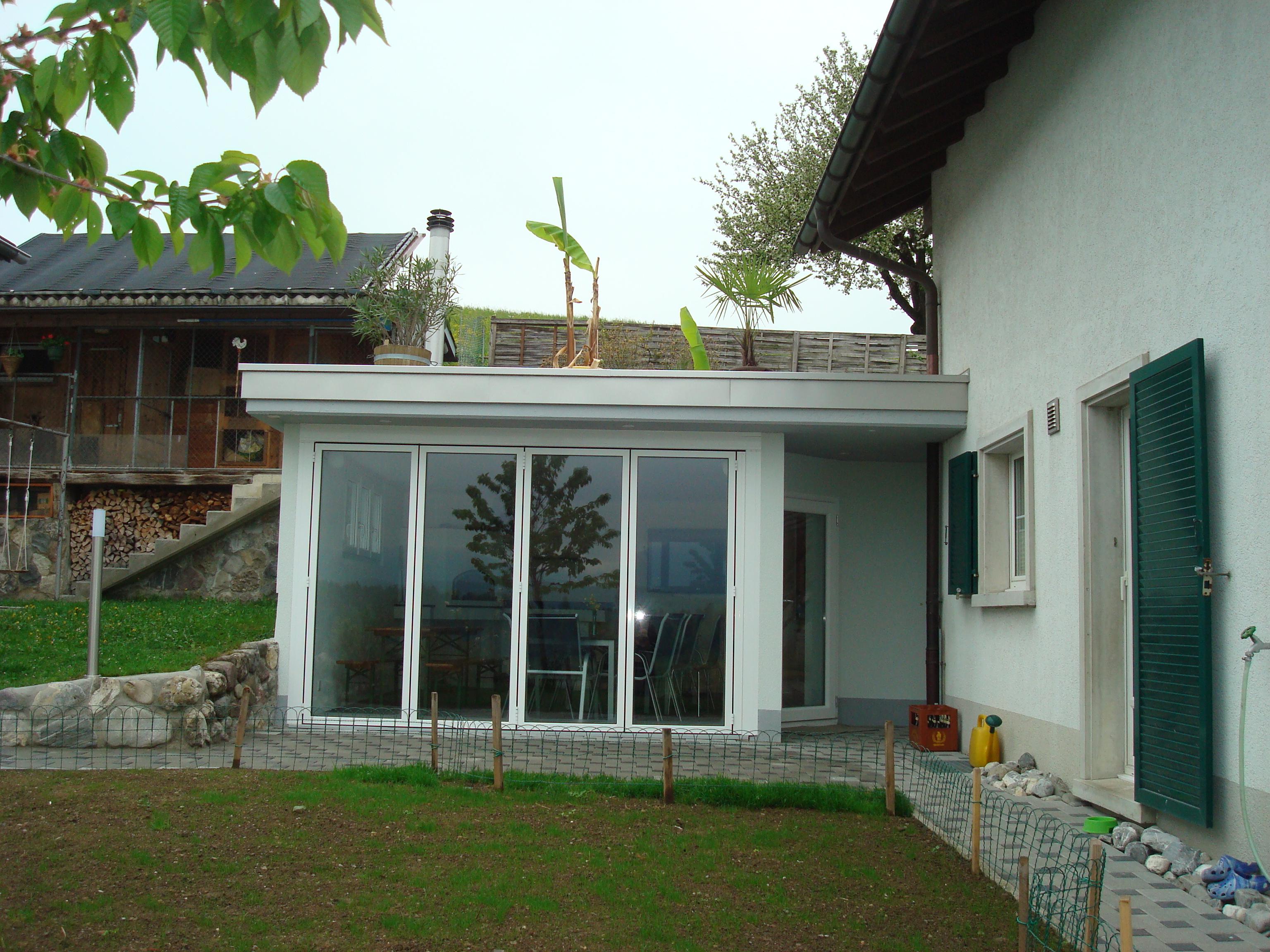 Anbau-Wintergarten