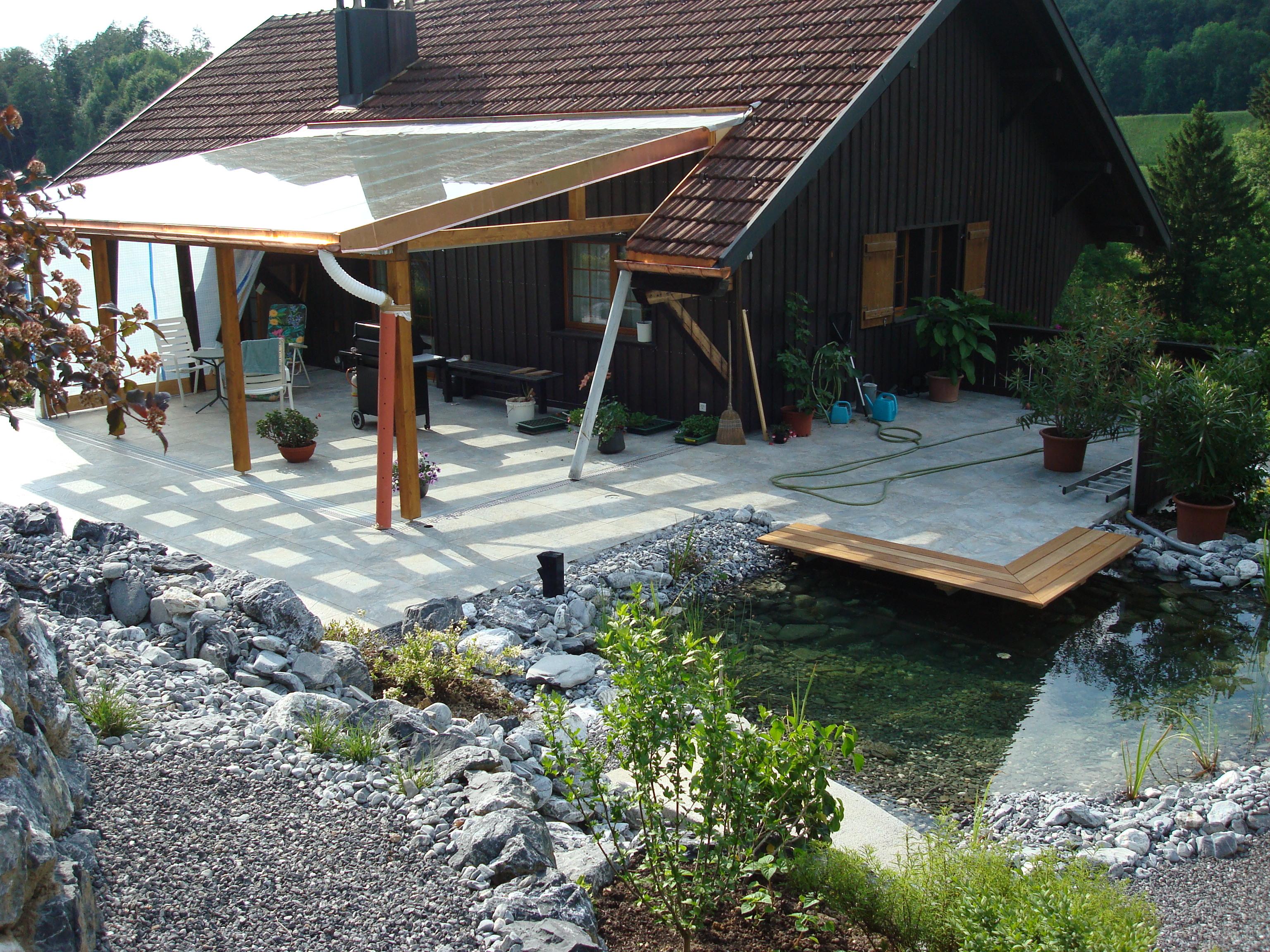 Dach-Wintergarten