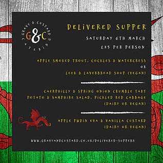 G&C - Delivered Supper - Welsh Influence