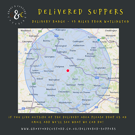 G&C - Delivered Suppers - Delivery Range