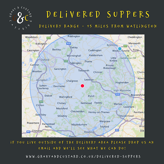 G&C - Delivered Suppers - Delivery Range