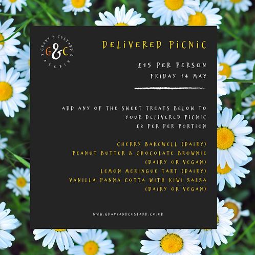 Delivered Picnic - Sweet Treats - Friday 14 May