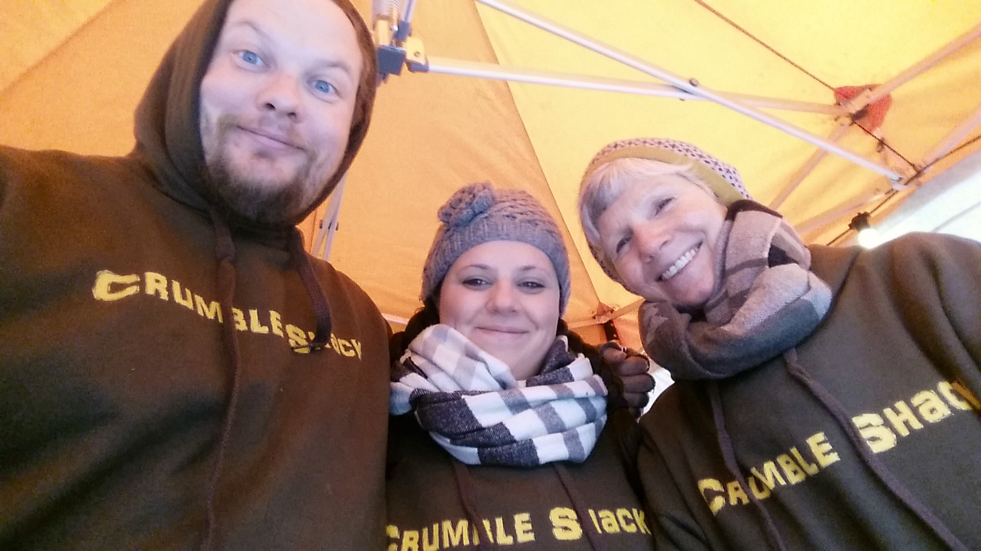 Crumble Shack Team at the Southbank