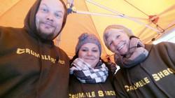 Crumble Shack Team at the Southbank