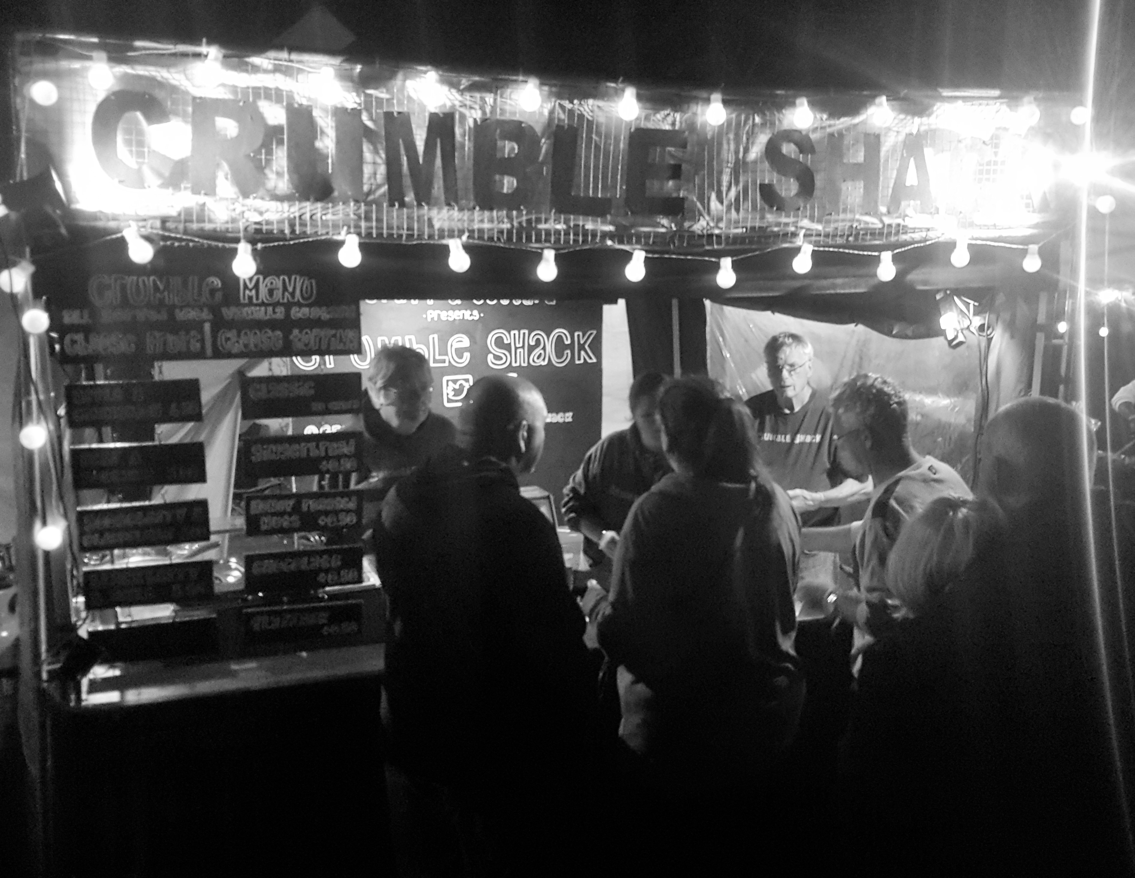 Crumble Shack at Festival No.6
