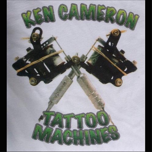 Ken Cameron Tattoo Machines T-Shirt