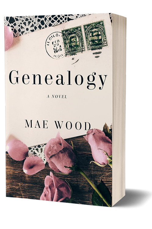 Signed paperback copy of Genealogy