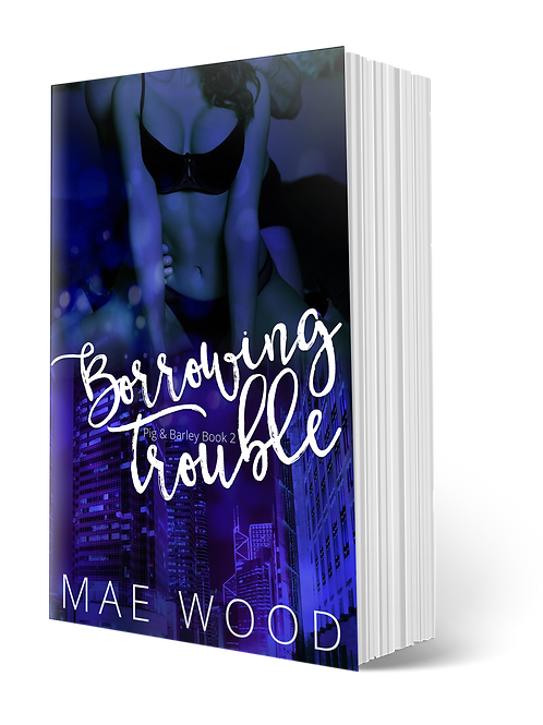 Signed paperback copy of Borrowing Trouble