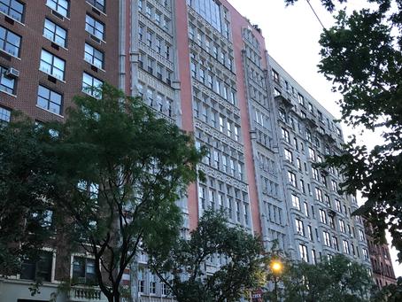 Erwin's New York apartment