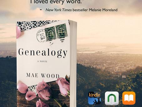 Genealogy, a novel 99c this week