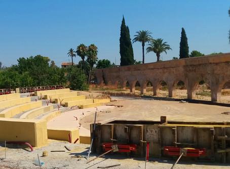 Rehabilitación del entorno del museo etnológico de la huerta, noria y acueducto.